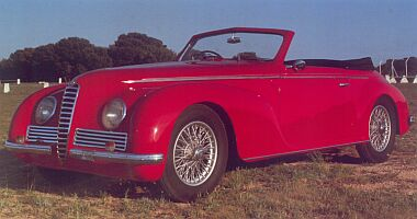 Alfa Romeo 6C2500 Sport Cabriolet by Touring (1942)